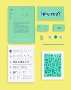 Fantastic Examples of Creative Resume Designs – corporate branding identity Self Branding, Portfolio Design, Portfolio Resume, Portfolio Examples, Corporate Design, Brand Identity Design, Corporate Branding, Business Design, Creative Business