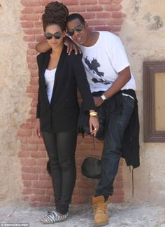 Holiday snaps: Beyoncé shared several photos of herself and husband Jay-Z from a trip to Cuba which took place in April