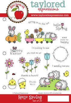 Taylored Expressions: Hello Spring