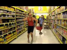 Phil Dancing In The Grocery Store. (see also: personal bucket list)