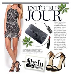 """Shein.com"" by karicarmina ❤ liked on Polyvore featuring moda e NARS Cosmetics"