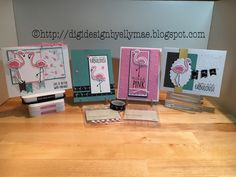 Created with the Tickled Pink stamp set & Thin Cuts & Calypso paper pack by Close to My Heart EllyMae.ctmh.com