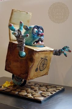 Boxtroll 'Wheels' Extreme Armature Cake - Cake by Dominique Ballard