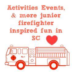 #SouthCarolina #firestation #firefighter #kidsevents #upstate #firetruck #fireengine #jrfireman Firetruck, Fire Engine, Kids Events, Firefighter, South Carolina, Engineering, Activities, Words, Fun