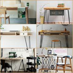 DIY Projekt: Schreibtisch Selber Bauen   25 Inspirierende Beispiele Und  Ideen Amazing Pictures