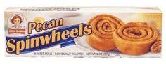 Little Debbie: Pecan Spinwheels 12/2.1 Oz (3 Boxes)