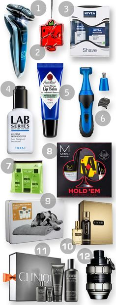 The Dirty Dozen for Men: Grooming gift ideas - Beauty And The North East