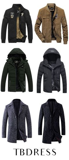 Find cheap outerwear for men including high quality jackets, overcoats, wool coats and other men's outerwear at Tbdress. Bring nice mens spring,fall and winter outerwear home. Spring Fashion Outfits, Winter Fashion, Men Fashion Photo, Fashion Ideas, Fashion Inspiration, Cool Outfits For Men, Stylish Outfits, Winter Sneakers, Mens Winter Coat