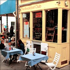 The Breakfast Club, Camden Passage in Angel!