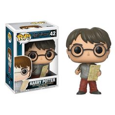 Harry Potter with Marauders Map Pop! Vinyl Figure - Funko - Harry Potter - Pop! Vinyl Figures at Entertainment Earth