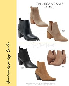 suede fall booties and ankle boots affordable and on a budget Hot Tickets, Fall Booties, Nordstrom Sale, Barefoot Dreams, Wrap Cardigan, Look Alike, Anniversary Sale, Dupes, Chelsea Boots