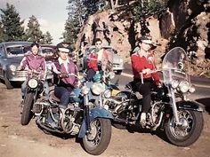 - via rivethead Harley Davidson, Chicks On Bikes, Old Motorcycles, Beatnik, Vintage Iron, Biker Style, Old And New, Old School, Vintage Ladies
