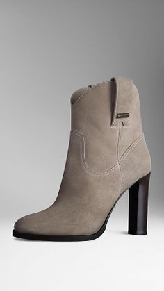 Suede Ankle Boots | Burberry