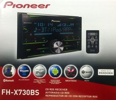 New Pioneer FH X730BS Double DIN Car Audio Stereo w Bluetooth | eBay