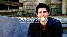 Reasons to love Teen Wolf Derek's smile