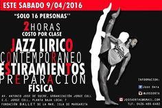 Los bailarines deben tener un entrenamiento completo. Un Sábado de clase especial es una muy buena oportunidad. Disfruten y apoyen. #ballet #Danza #Jazz #Contemporáneo #Estiramientos #IslaDeMargarita #Venezuela #Bailarines #Bailarinas #Regrann