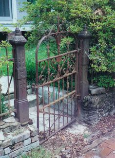 Iron gate New Orleans...