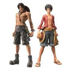 One Piece Ace and Luffy Master Stars Piece Statues Set >>> Learn more by visiting the image link.