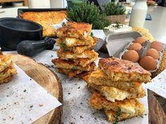 (2) Θρεπτική Τραχανόπιτα με Φέτα και Μυρωδικά από τον Λάμπρο Βακιάρο! - YouTube Cheese, Meat, Chicken, Ethnic Recipes, Food, Youtube, Drink, Beverage, Essen