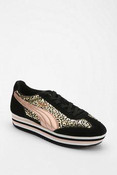 Puma SF77 Animal Print Platform Sneaker - Urban Outfitters