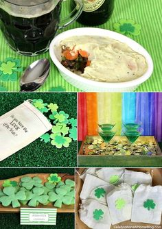 St. Patricks day party ideas