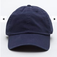 GOJANE Baseball cap Cap. Navy blue Other