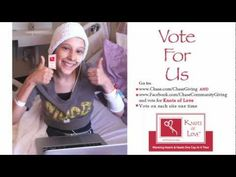 Knots of Love (knit and crochet chemo caps for charity) seeks votes to get grant