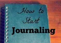 Life of Lovely: Journaling Tips