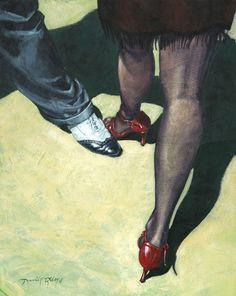 """"""" Tango Feet  """" by David Rile"""