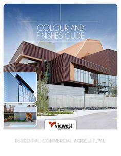 Pin By Vicwest Building Products On Commercial Projects