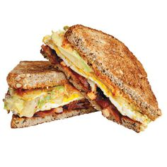 """Must consume this sandwich for breakfast...get up early!  Tinier than many walk-in closets and closed by 2 p.m. each day, Mike  Patty's isn't your typical café. But it's home to the most satisfying handheld breakfast around — the """"fancy"""" egg sandwich, a pile-up of bacon, cheddar, avocado, house-made mayo, and red onion on crisp multigrain ..."""