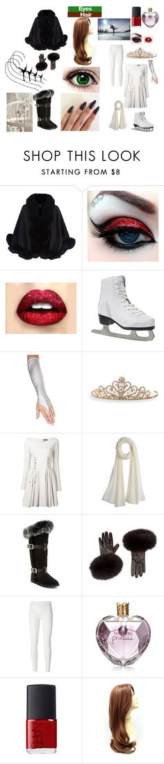 """""""Ice Skater"""" by toxic-coodere ❤ liked on Polyvore featuring Harrods, BillyTheTree, Plein Sud, Calypso St. Barth, Australia Luxe Collective, Rick Owens Lilies, Vera Wang and NARS Cosmetics"""
