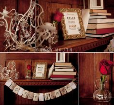 Be Our Guest Sign Beauty and the Beast Wedding Fairy Tale - Belle Bride - Sassy Mouth Photography