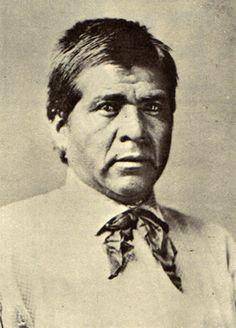 Chief Eskiminzen, 1876. Chief of Aravaipa Apache at time of Camp Grant massacre.