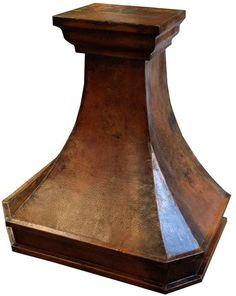 Custom hammered kitchen copper range hood. #mycustommade #rangehood #kitchenremodel