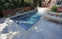 another good example of a small pool.