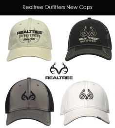 Realtree Outfitters Antler Logos Caps - Just Arrived!!