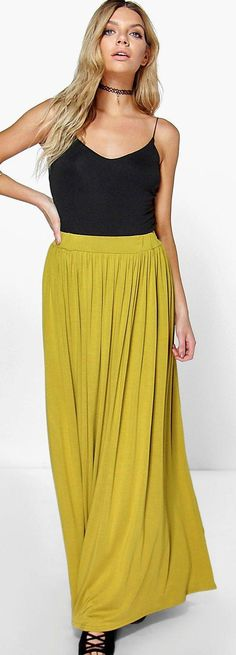 Sophia Floor Sweeping Maxi Skirt - Skirts  - Street Style, Fashion Looks And Outfit Ideas For Spring And Summer 2017