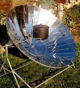 Ever hear of a Sun Oven?  Using the sun's rays to heat an outdoor oven to up to 350 degrees can save alot on your electricity bills.  It's technique is similar to that of a crock pot and retains much of the flavor of the food.  You can build your own for little or nothing.  Find out how.