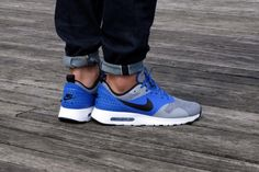 Air Max Tavas PRM - Racer Blue / Black-Wolf Grey