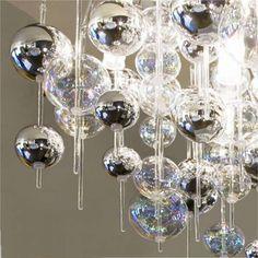 diy decorative fluorescent light covers | Atlanta Custom Decorative Direct/Indirect Pendant Lighting