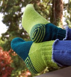 Making these socks looks harder than most of my college courses. But totally worth the effort.