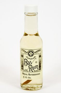 20 Amazing Gift Ideas for Father's Day Australia: Baldwin & Sons Bay Rum Aftershave from Third Drawer Down.