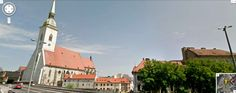 Google Street View - St. Martin Cathedral, Bratislava Bratislava, San Francisco Ferry, Cool Pictures, Cathedral, Street View, Google, Blog, Travel, Viajes