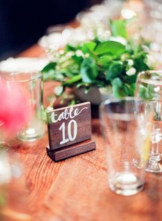 Table number // A Co