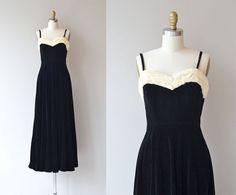 De Llano Kleid 1930er Jahre Vintage Kleid von DearGolden auf Etsy
