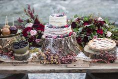 Blush Rocky Mountain Wedding Inspiration - Rustic Folk Weddings
