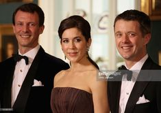 Prince Joachim of Denmark, Crown Princess Mary of Denmark and Crown Prince Frederik of Denmark take part in a receiving line ahead of an official dinner at the Royal Palace on March 26, 2012 in Copenhagen, Denmark. Prince Charles, Prince of Wales and Camilla, Duchess of Cornwall are on a Diamond Jubilee tour of Scandinavia that takes in Norway, Sweden and Denmark.