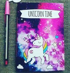 Libreta de unicornio galáctico . Quiero uno !!!!!!