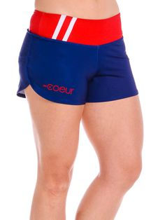 Women's Run Shorts in Monaco Design